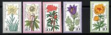 (ref-9604) Germania 1975 ALPINA fiori dei fondi di soccorso SG.1762 / 1765 +1766 MINT (MNH)