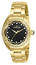 Invicta Women's Wildflower 28831 35mm Black Dial Stainless Steel Watch