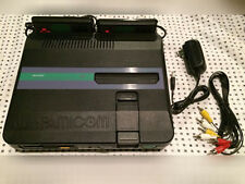 TWIN FAMICOM SHARP Console System AN 505BK NEC Disc FREE 72 pin adapter
