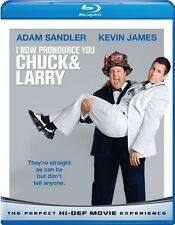 I NOW PRONOUNCE YOU CHUCK & LARRY BLU RAY  ADAM SANDLER KEVIN JAMES (2009) AND