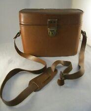 Vintage Retro Tan Colour Camera Bag - Shoulder Strap Neck Bag