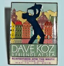2018 Dave Koz & Friends at Sea -Voyage One,-Jazz Cruise - Ltd Ed Pin #1184/2100
