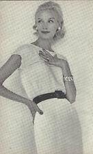 1959 Vintage KNITTING Pattern (V114) By VOGUE