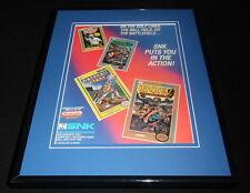 Baseball Stars Lee Trevino 1989 NES Nintendo 11x14 Framed ORIGINAL Advertisement