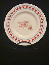 """Vtg 1985 Ziggy """"Don't Forget to Add The Love"""" Valentine's Plate by Thomas Wilson"""
