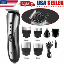 Professional Electric Male Men Hair Clipper Shaver Trimmer Cutter Cordless Razor