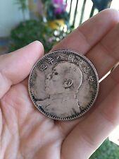 Chinese Silver Dollar Coin Yuan Shih kai 8years 1yuan Chinese Old silver Dollar