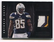 2012 Panini Black NFL Equipment Prime 40 Antonio Gates Patch 16/49