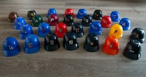 Lot of 28 Vintage Dairy Queen Mini Baseball Helmets - late 1970's/early1980's