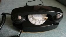 CLASSIC BLACK WESTERN ELECTRIC 702 ROTARY DIAL TELEPHONE WITH LIGHT KIT
