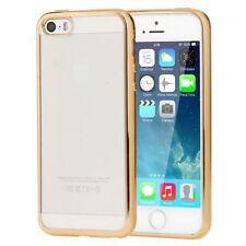 Housses et coques anti-chocs dorés iPhone 5s pour téléphone mobile et assistant personnel (PDA)