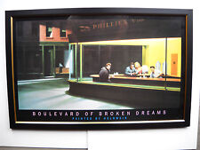 Boulevard of Broken Dreams Marilyn Monroe Dean Elvis  Framed Under UV Glass