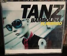 Flamingo Tanz Bambolina Radio Edit Cd Single Promo One Track Alberto Camerini