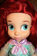 "Disney ANIMATORS The LITTLE MERMAID Princess ARIEL Toddler 16"" Doll"