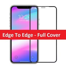 Tempered Glass SCREEN PROTECTOR iPhone 12 11 PRO MAX Mini X, XR, XS, FULL COVER
