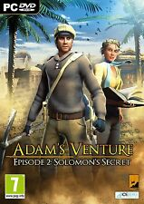 Adam's Venture 2: Solomon's Secret (PC DVD) BRAND NEW SEALED