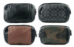 Coach Mens (F37594, F38749, F40650) Graham Utility Pack Leather Waist Bag