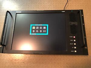 """Marshall Electronics V-R151P 15"""" Rackmountable Color LCD Panel Monitor w/ PS"""