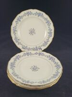 ROYAL YORK CHINA, HOHENBERG GERMANY 28722, 4 BREAD & BUTTER 6 1/8 DIAMETER.