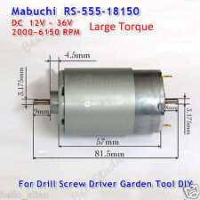 DC 12V 24V 36V Mabuchi RS-555PH Drill Saw Tools Elektrisch Motor High Torque