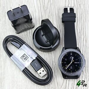 Samsung Galaxy Watch SM-R810 42mm Midnight Black Case Black Buckle Bluetooth