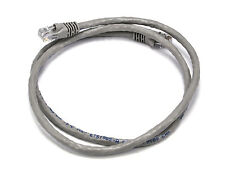 3FT 24AWG Cat6 500MHz Crossover Copper Ethernet Network Cable - Gray