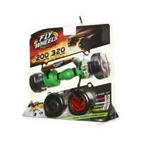 Fly Wheels 4 Wheel pack 200 MPH Twin Turbo Launcher Age 8+ Free UK Postage Green