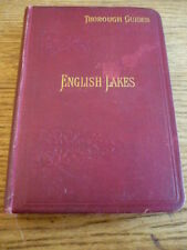 """ENGLISH LAKES, BADDELEY """"THOUROUGH """" GUIDES,  BOOK"""