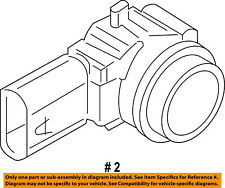 Jeep CHRYSLER OEM 17-18 Compass Rear Bumper-Reverse Sensor 5UT05TZZAA