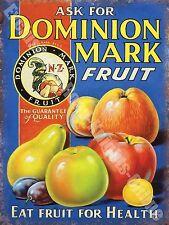 Dominion Fruit Tiki Bar Classico Cocktail Bevande Decorativa Minuteria Metallica