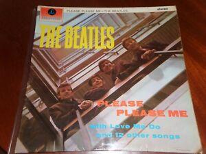 THE BEATLES LP PLEASE PLEASE STEREO PCS 3042 PARLOPHONE 1963