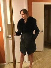 Gorgeous Geniune Italian Lamb Skin Winter Jacket, Size Small