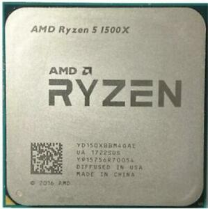 Used!AMD Ryzen 5 1500X R5 1500X 3.5 GHz Quad-Core Eight-Core CPU Processor
