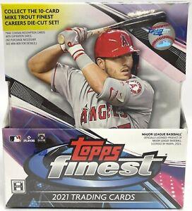 PHILADELPHIA PHILLIES 2021 Topps Finest Baseball Full 8 Box Hobby Case Break #2