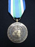 BRITISH ARMY GUARDS,PARA,SAS,RAF,RM,SBS - UN Military Medal+Ribbon SIERRA LEONE