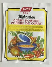 2 Packs  Malaysian Curry Powder 1.76 Oz. Fast Shipping !