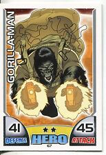 Marvel Hero Attax Series 1 Base Card #67 Gorilla-Man