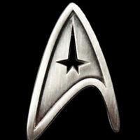 4pcs Set Star Trek Starfleet Command Brooch Badge Pin Logo Cosplay