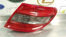 MERCEDES C-CLASS W204 OSR DRIVERS OFFSIDE REAR TAIL LAMP A2048203064 SEE DAMAGE!
