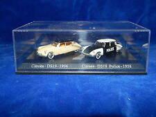 UNIVERSAL HOBBIES - JOUET / Toy - CITROEN DS19 1956 - CITROEN DS19 POLICE 1958