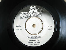 "Robert Wyatt I'm A Believer A-1U B-1U UK 7"" Virgin VS 114 1974 VG+"
