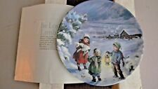 Bradford Exchange Collectors Plate - The Lost Lamb - 1990
