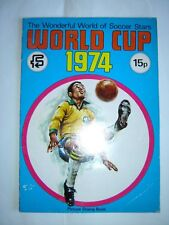 WONDERFUL WORLD OF SOCCER STARS ALBUM - WORLD CUP 1974 (incomplete 66 of 270)