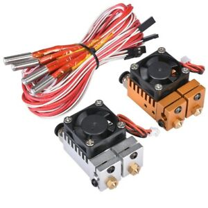Chimera 3D Hotend Kit Dual Color 2 IN 2 OUT Extruder Multi-extrusion 1.75/0.4MM