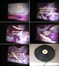 Washington Artenschutz Übereinkommen 16 mm Film.Einfuhr,Zoll u.a..History Film