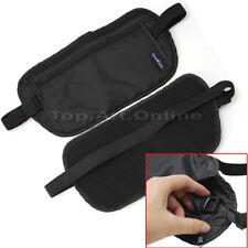 Security Zipped Waist Bum Belt Bag Passport Cash Card Holder Sport Travel Pouch