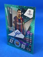 MATCH ATTAX EXTRA 2020/21 SIGNATURE STYLE LIONEL MESSI FC BARCELONA