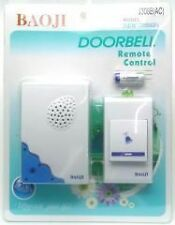NEW BAOJI CORDLESS/WIRELESS/CALLING  REMOTE DOOR BELL FOR HOME/SHOP/OFFICE