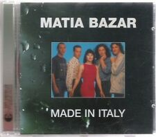 MATIA BAZAR - Made in Italy - CD mint
