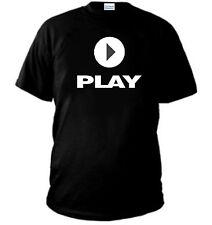 T-SHIRT PLAY maglia PLAYSTATION VIDEO GIOCHI nintendo  felpa maglietta polo NE